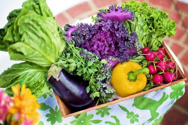 afvallen door groente te eten